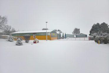 Zimná pohoda na letisku :)